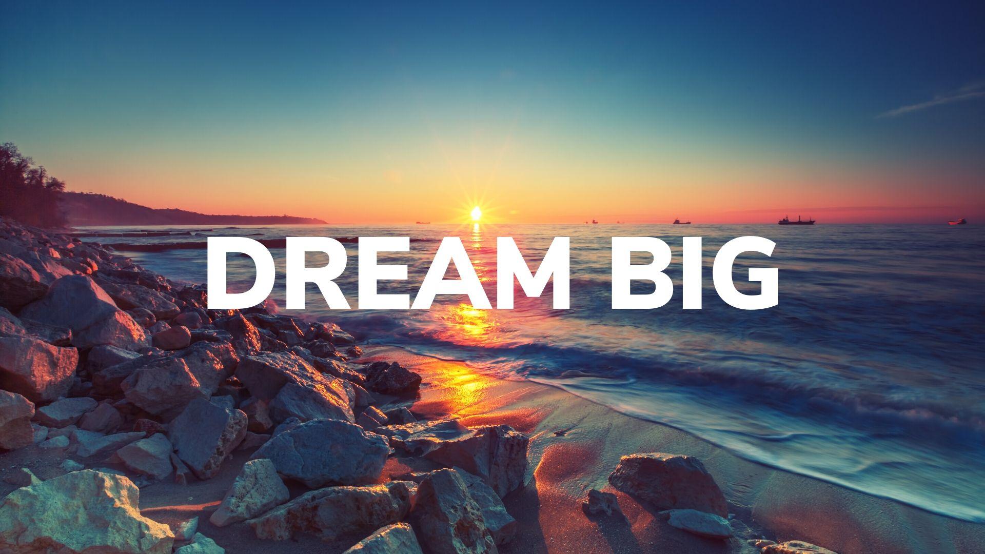 Dream Big Sermon Cover Art