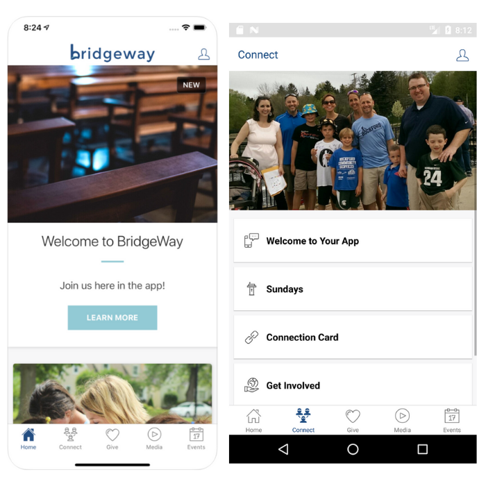 Bridgeway App