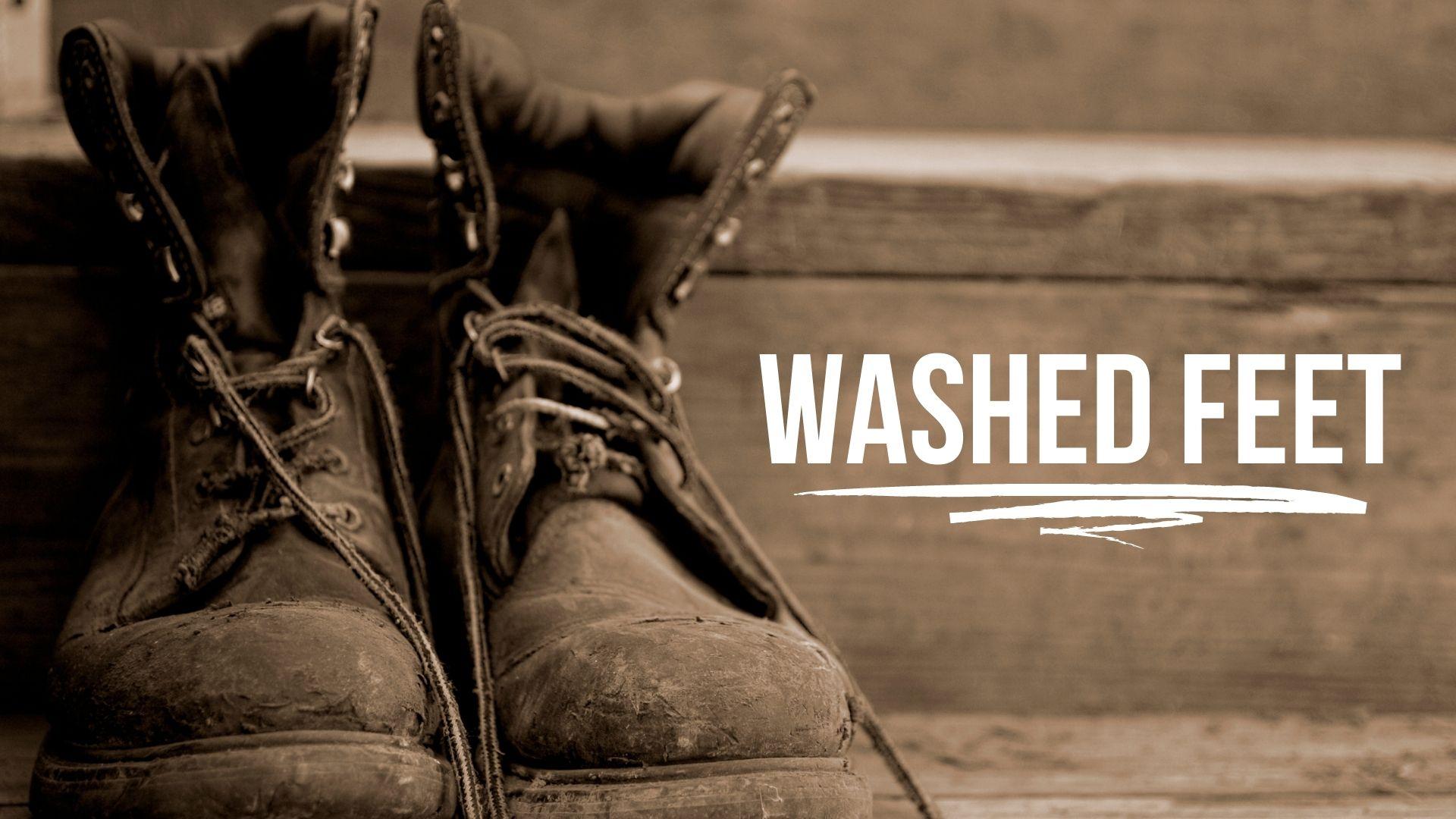 Washed Feet