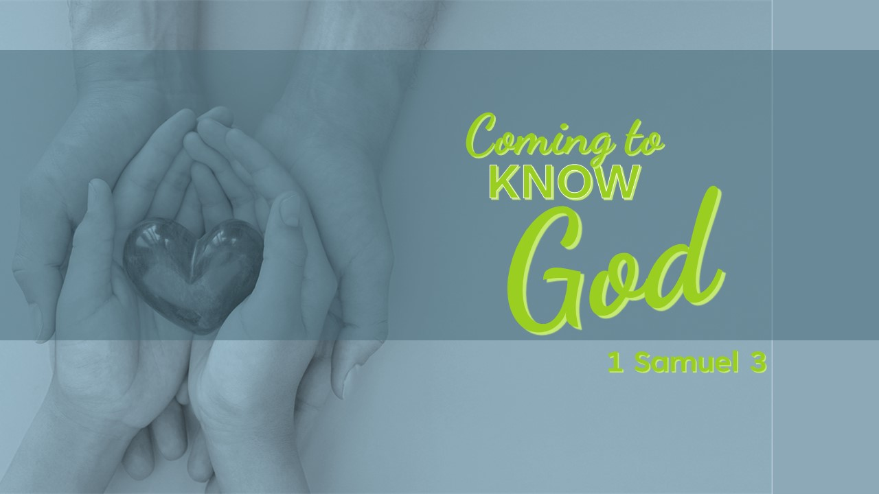Coming To Know God
